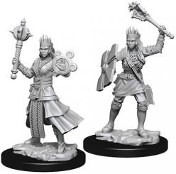Dungeons and Dragons: Nolzurs Marvelous Unpainted Miniatures - Female Human Cleric