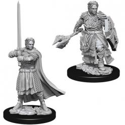 Dungeons and Dragons: Nolzurs Marvelous Unpainted Miniatures - Male Human Cleric