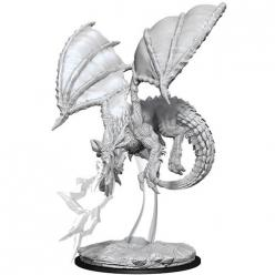 Dungeons and Dragons: Nolzurs Marvelous Unpainted Miniatures - Young Blue Dragon