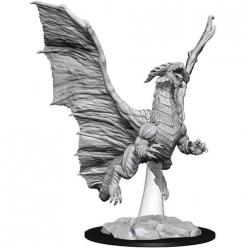 Dungeons and Dragons: Nolzurs Marvelous Unpainted Miniatures - Young Copper Dragon