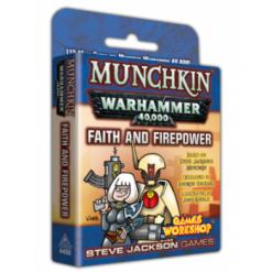 Munchkin Warhammer 40,000 – Faith and Firepower