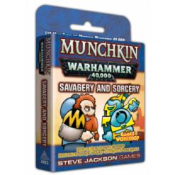 Munchkin Warhammer 40,000 – Savagery and Sorcery