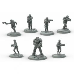 Fallout: Wasteland Warfare - Brotherhood of Steel Core Box