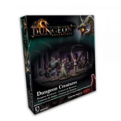 Terrain Crate: Dungeon Essentials Dungeon Creatures