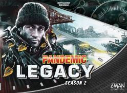 Pandemic Legacy: Season 2 (Black Version)