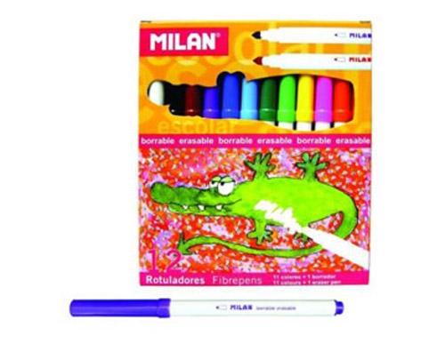 Carioca Milan 11 Culori + 1 Care Sterge