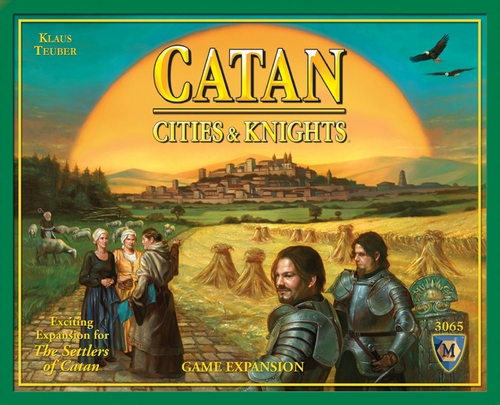 The Settlers Of Catan: Cities And Knights