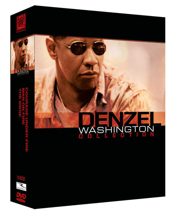 Denzel Washington Collection 3 Discuri
